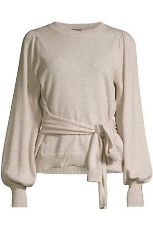 ELIE TAHARI Women Jumpers - Cashmere Tie Waist Sweater