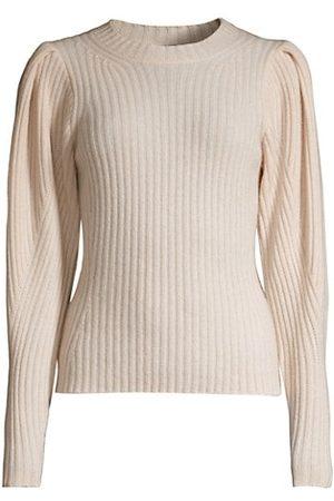 ELIE TAHARI Women Jumpers - Cashmere Puff-Sleeve Sweater