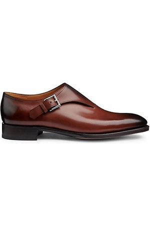 JOHN LOBB Men Sneakers - Jermyn II Leather Monk Strap Shoes