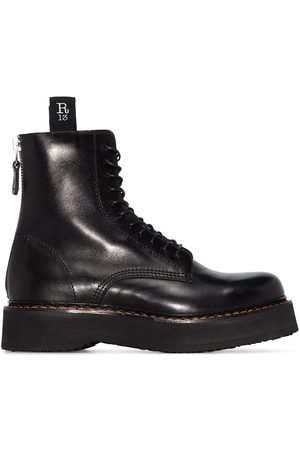 R13 Women Boots - Stack 40 military boots