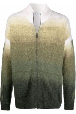 OFF-WHITE Men Hoodies - Arrows motif zip-up cardigan