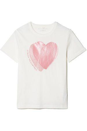 Stella McCartney Heart-print cotton T-shirt