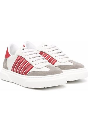 Dsquared2 Striped low-top sneaekrs