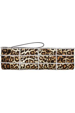 Giuseppe Zanotti Myrtle leopard-print clutch bag