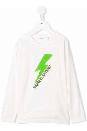 BONPOINT Tadda thunderbolt-print T-shirt
