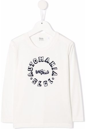 BONPOINT Graphic-print long-sleeved T-shirt