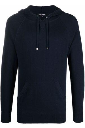 RON DORFF Lightweight cotton-cashmere hoodie