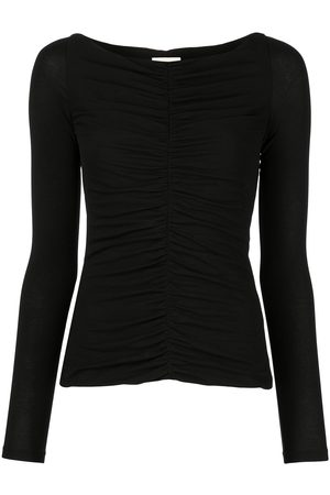 Khaite Women Long Sleeve - The Lance ruched-detail top