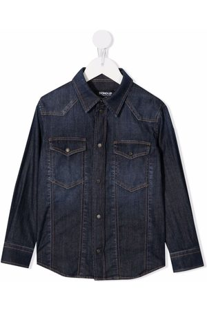 Dondup Boys Denim - Button-up denim shirt
