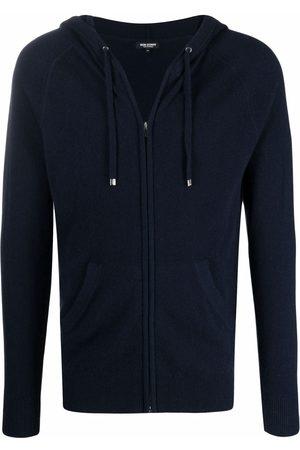 RON DORFF Men Sweatshirts - Zipped cashmere hoodie