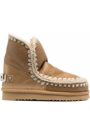 Mou Eskimo metallic ankle boots