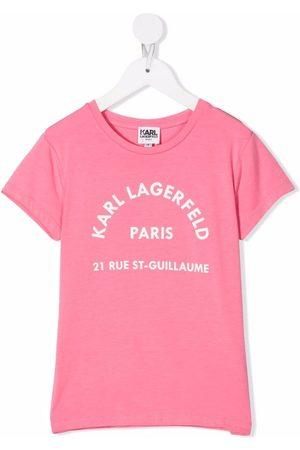 Karl Lagerfeld Logo-print short-sleeved T-shirt