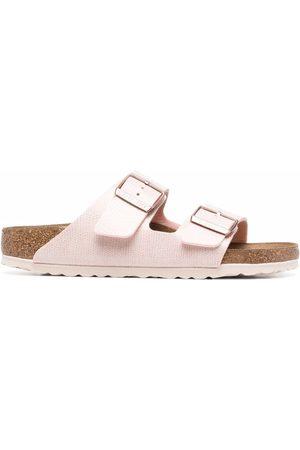 Birkenstock Women Sandals - Side-buckle detail slides
