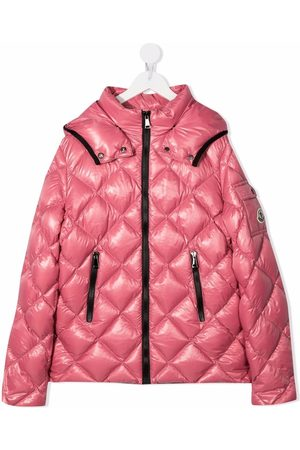 Moncler Quilted hooded down jacket