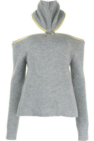 COPERNI Women Jumpers - Open-back ribbed-knit jumper
