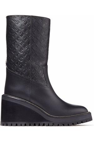 Jimmy Choo Yola 80mm wedge boots