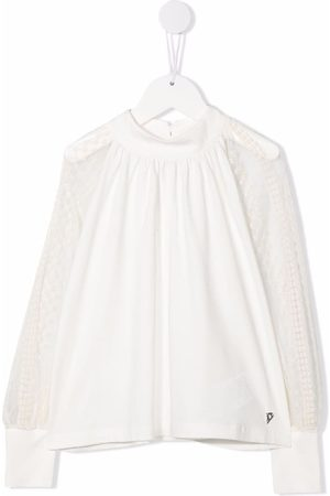 Dondup Round neck long-sleeved blouse