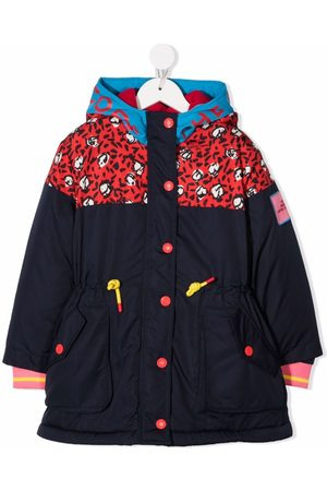 The Marc Jacobs Girls Jackets - Abstract-print hooded jacket