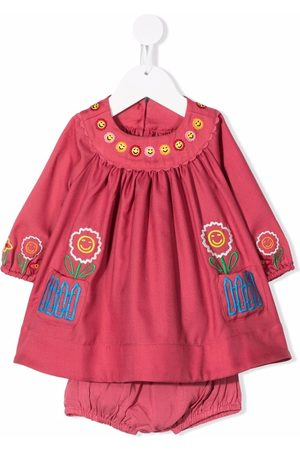 Stella McCartney Embroidered-happy flowers dress