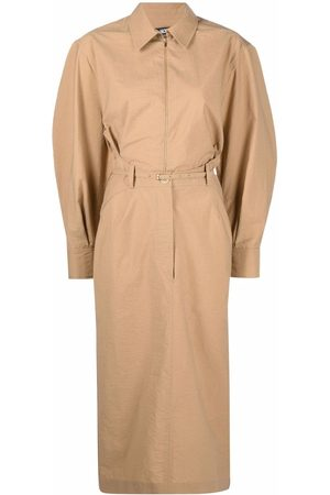 Jacquemus Uzco puff-sleeve dress