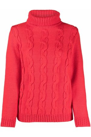 Victoria Beckham Cable-knit wool jumper
