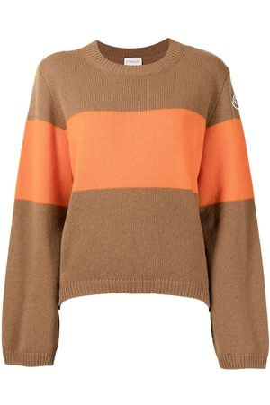Moncler Logo-patch colour-block jumper