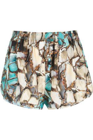 Lygia & Nanny Lee gemstone-print shorts