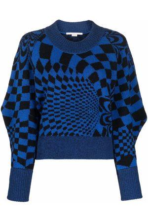 Stella McCartney Geometric-pattern jumper