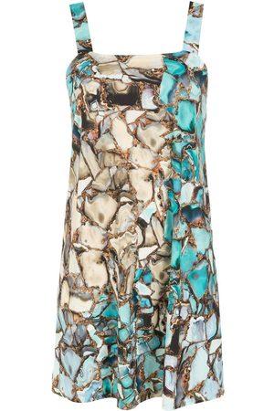 Lygia & Nanny Pomala gemstone-print mini dress