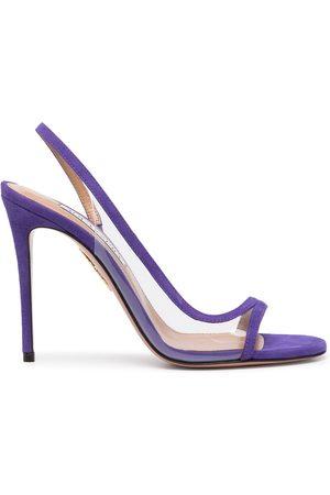 Aquazzura Nude 105mm sandals