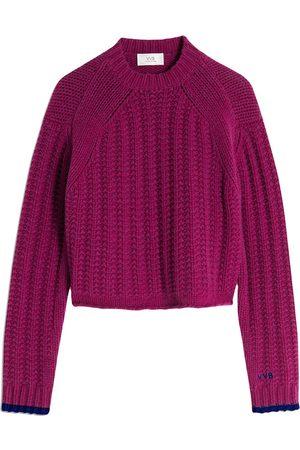 Victoria Victoria Beckham Chunky knit wool jumper