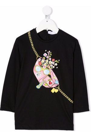 MONNALISA Bag-print T-shirt