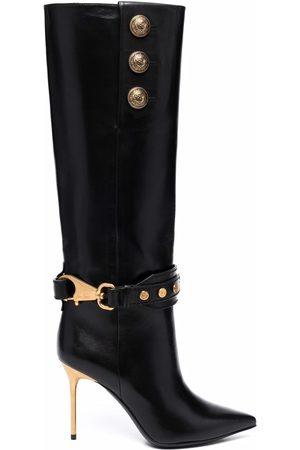 Balmain Knee-high Robin boots