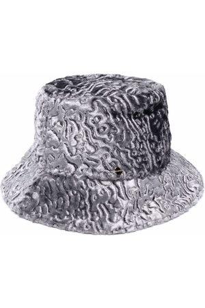 FLAPPER Women Hats - Textured metallic bucket hat