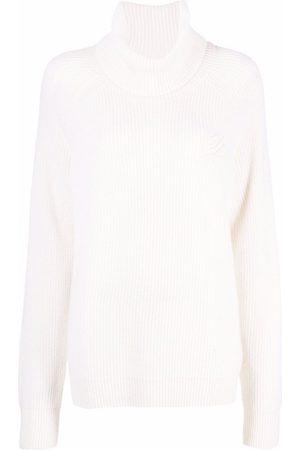 Karl Lagerfeld Appliqué-logo knitted jumper