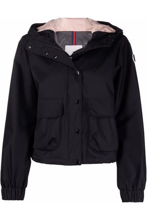 Moncler Logo-patch hooded jacket