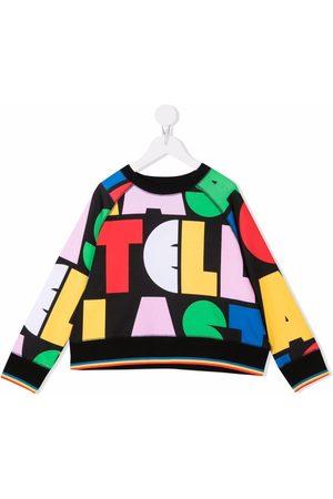 Stella McCartney Multicolour logo-print sweatshirt