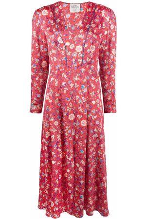 FORTE FORTE All-over floral print dress