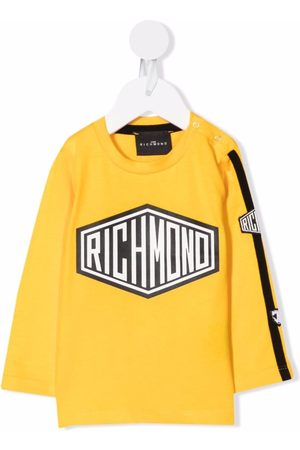 John Richmond Junior Logo-print long-sleeve T-shirt