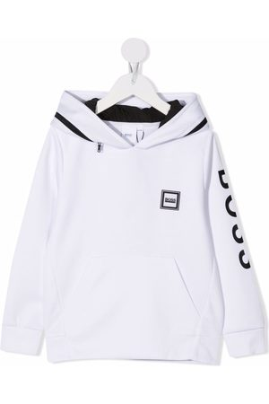 HUGO BOSS Logo-print hoodie