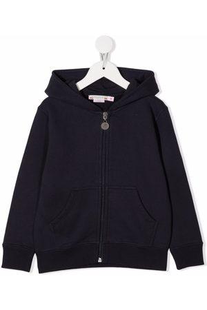 BONPOINT Slogan zipped hoodie