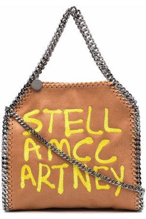 Stella McCartney Falabella logo print tote bag