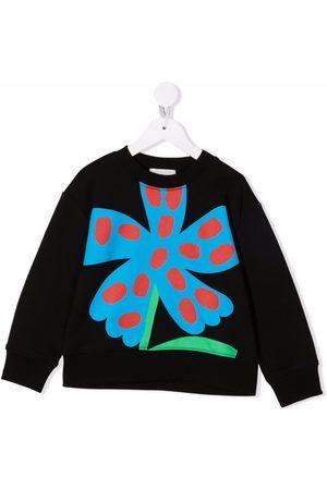 Stella McCartney Floral-print cotton sweatshirt