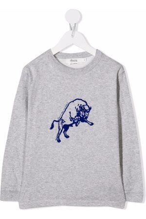 BONPOINT Embroidered crew-neck sweatshirt