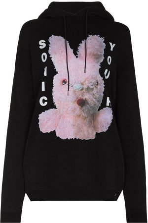 R13 Sonic Youth graphic print hoodie