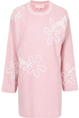 BAPY Embroidered wool jumper