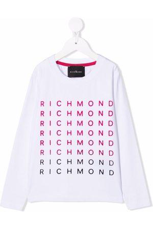 John Richmond Junior Logo-lettering T-shirt