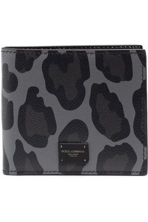 Dolce & Gabbana Leopard-print cardholder