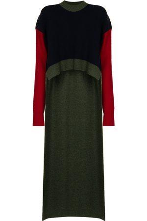 Colville Draped step-hem wool jumper