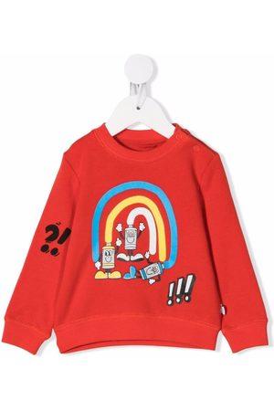 Stella McCartney Baby Sweatshirts - Cartoon-print cotton sweatshirt